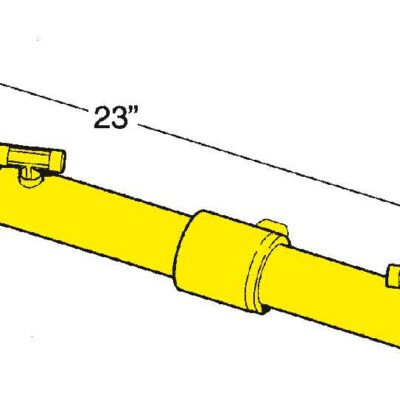 SeaStar Hydr. sterndrivebesturing met tilt pomp voor Merc. etc. Volvo SX (zonder stuurbekrachtiging)