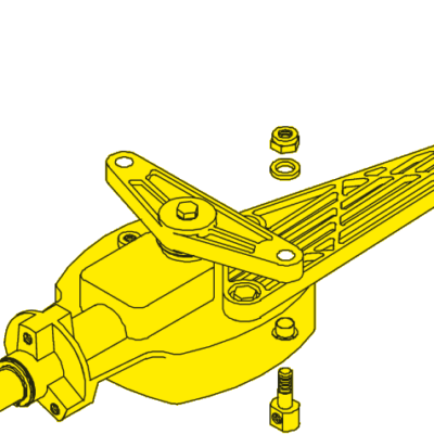 SeaStar Stuurkop 135° Jet boat besturing