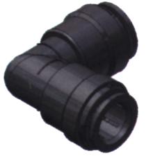 SeaTech Quick-connect knie-stuk  Ø15mm x Ø15mm