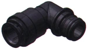 SeaTech Quick-connect pomp-verbindingsstuk  knie  Ø15mm