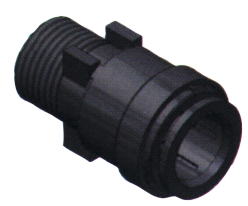 SeaTech Quick-connect verbindingsstuk  Ø15mm x 1/2 NPT  buitendraad