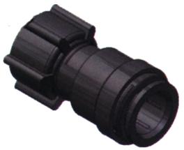SeaTech Quick-connect verbindingsstuk  Ø15mm x 3/4 NPS  binnendraad wartel
