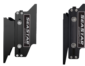 Seastar Mechanische Jack Plate powerlift  10 Set-Back  handbediend