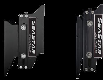 Seastar Mechanische Jack Plate powerlift  6 Set-Back  handbediend