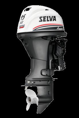 Selva BB-motor Aruana EFI 15pk XS 4-T. Type E.ST.L.PT  Elektrostart