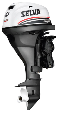 Selva BB-motor Kingfish  15pk XS 4-T. Type C  Handstart