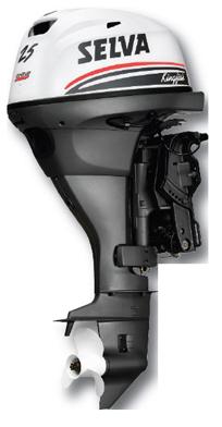 Selva BB-motor Kingfish  15pk XS 4-T. Type E.ST.L.PT  Elektrostart