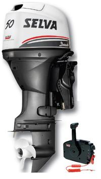Selva Buitenboordmotoren Dorado 50EFI  E.ST.L.PT.  50pk