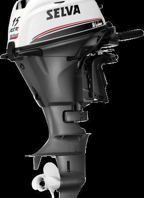 Selva Buitenboordmotoren Wahoo 15XSR (High Output)  E.ST.L.T.  15pk