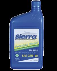 Sierra Motorolie 25W-40 946ml voor sterndrive 4-takt