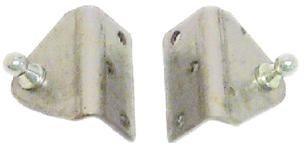 Sierra Nautalift  RVS 90° houder met 10mm-kogelaansluiting  breedte 2 (51mm)  liphoogte 12 7mm