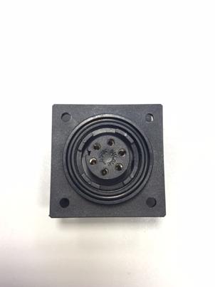 Socket tbv GALAXY 503 Afstandbediening  voor Ankerlieren (6-polig)