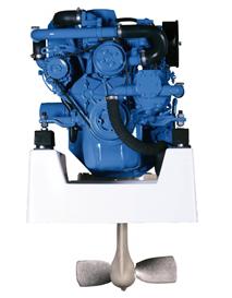 Solé Scheepsdieselmotoren Mini 17 & Mini 29 mét Aanbouwkit voor Volvo Saildrive