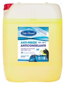 Solé antivries/koelvloeistof 50%  5l container  tot -38°C