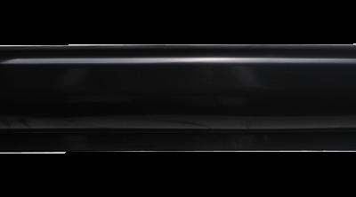 Steigerfender recht 60 x 500mm  Zwart