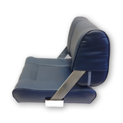 Stuurstoel Athene; Flip-Back Seat; zonder stoelpoot; BLAUW