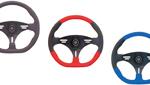 Stuurwiel Portofino kunstleer 3-spaaks Blauw  355mm