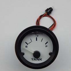 Tankmeter 24v Wit voor Art. 482151-482165 (12v+weerstand!)