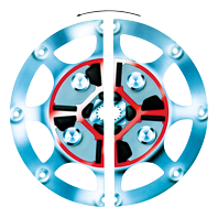 Technodrive Demperplaat Centa voor Yanmar 3 4JH3 (CF-DS-22-7-1-276-062)