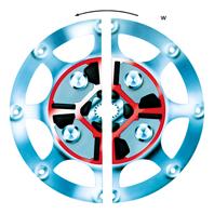 Technodrive Demperplaat Centa voor Yanmar LH voor TM545a / TM485a