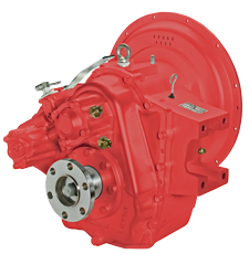 Technodrive hydraulische Keerkoppeling TM265 Red. 2.09:1
