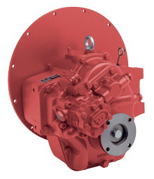 Technodrive hydraulische keerkoppeling TM170 R=2 50:1