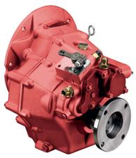 Technodrive hydraulische keerkoppeling TM345A R=1.54:1