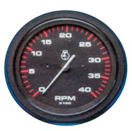 Toeren/urenteller 6000 Rpm Teleflex Amega Round 3