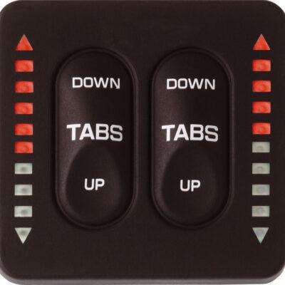 Trim Tab Indicator&controlbox 12/24v.voor Dual Actuators!