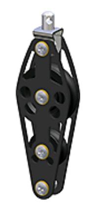 Vioolblok  10mm-lijn  Ø45mm Wartelend  met Hondsvot