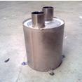 Waterlock RVS Staand  30mm