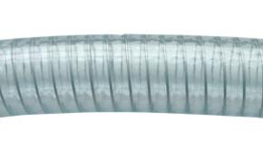 Waterslang  D. 40 x 50mm Mtr met Stalen Spiraal