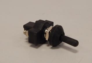 Wipschakelaar  voor Signaalhoorns Etc.  12amp.  12mm