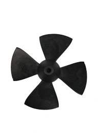 XFORCE EB-75 185/S Propeller inclusief montage set (breekpen ring en zelfborgende moer)