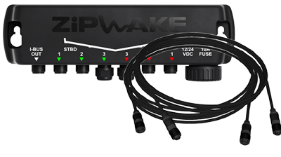 Zipwake Distribution Unit S with Power Cable 4m