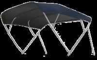 Zonnetent type Fly Inox; Navy; 185 x 156 x 252cm
