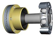 a-flex Zelfrichtend druklager Ø25mm voor model HD-108