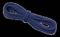 allpa 16-Voudig gevlochten landvast met handgemaakte oogsplits 10mm  blauw  L=6 5Mtr