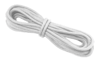 allpa 16-Voudig gevlochten landvast met handgemaakte oogsplits 14mm wit L=12Mtr