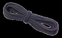 allpa 16-Voudig gevlochten landvast met handgemaakte oogsplits 18mm zwart L=15Mtr
