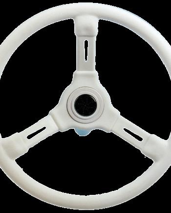 allpa 3-Spaaks stuurwiel Riviera wit kunststof  A=350mm  B=115mm