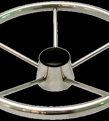 allpa 5-Spaaks stuurwiel Model RVS  A=343mm  B=95mm