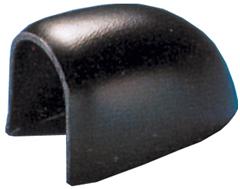 allpa ABS-eindstuk voor stootlijst Radial 52  zwart