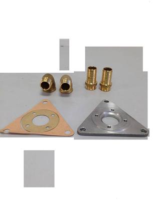 allpa Aanbouwset Johnson Impellerpomp F5B-9 (66-10-35231-1) voor Peugeot (driehoekflens)