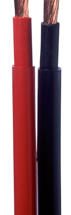allpa Accukabel  50mm²  rood  zeer flexible met neopreen mantel (minimale afname 10m)