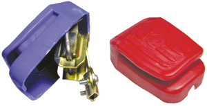 allpa Accuklem 65x45x24mm met plastic afdekkap (prijs per set)