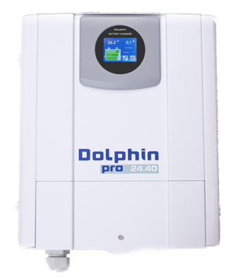 allpa Acculader 24V - 40A mod. Dolphin Pro Touch View