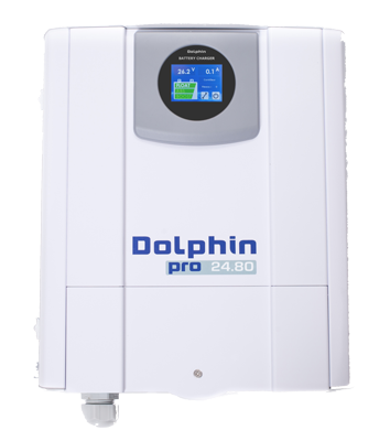 allpa Acculader 24V - 80A mod. Dolphin Pro Touch View