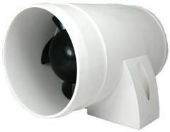 allpa Afzuigventilator voor motorruimtes  12V  3 0A  90-120m³/h  in-line montage