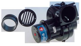 allpa Afzuigventilator voor motorruimtes  24V  2 5A  280m³/h  flensmontage  RINA-Gecertificeerd